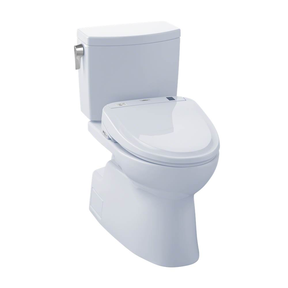 Toto MW474574CUFG#01 Vespin II 1G WASHLET+ S300e Two-Piece Toilet - 1.0 GPF - Cotton
