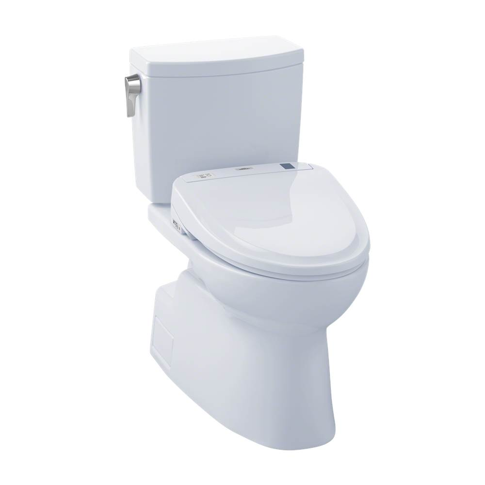 Toto MW474584CUFG#01 Vespin II 1G WASHLET+ S350e Two-Piece Toilet - 1.0 GPF - Cotton