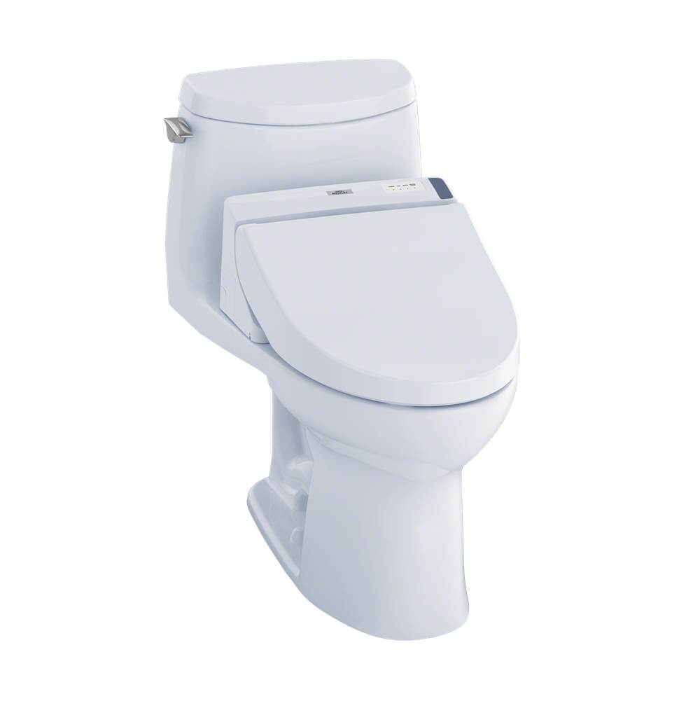 Toto MW6042044CUFG#01 UltraMax II 1G WASHLET+ C200 One-Piece Toilet - 1.0 GPF - Cotton