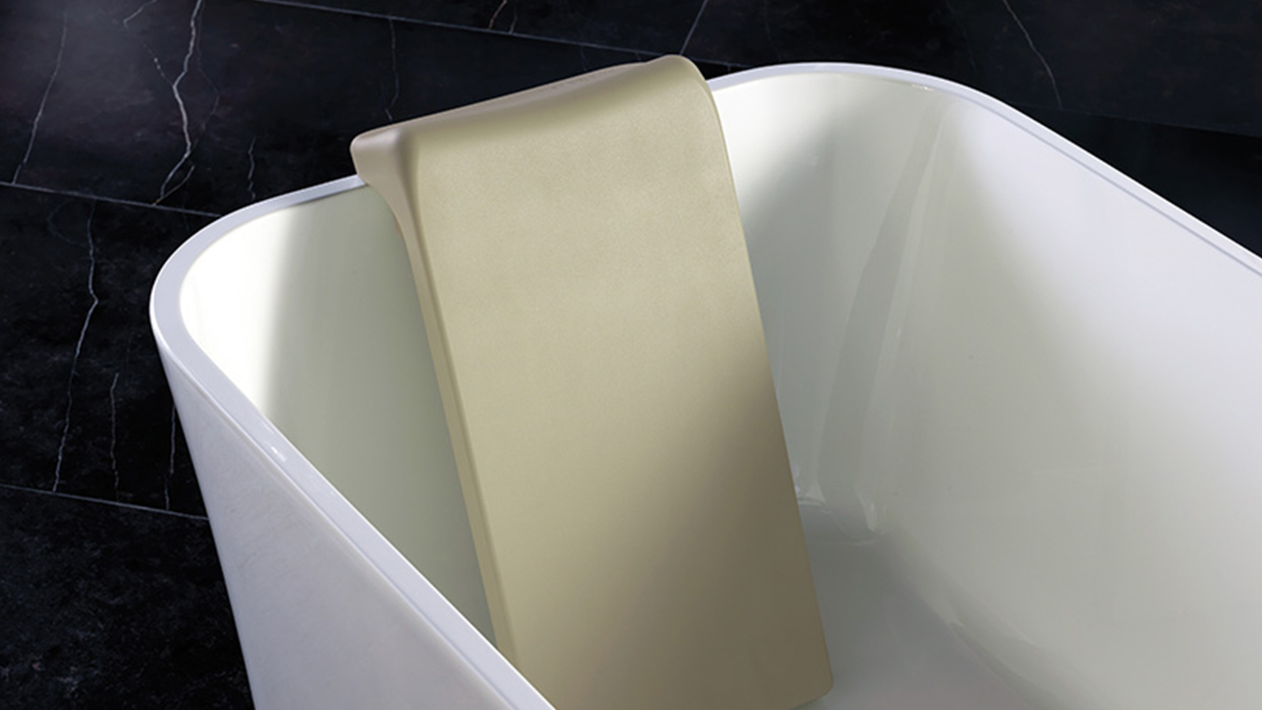 Victoria and Albert BR-SIT-GR Dedicated Design for the Ios and Edge Baths Light Gray