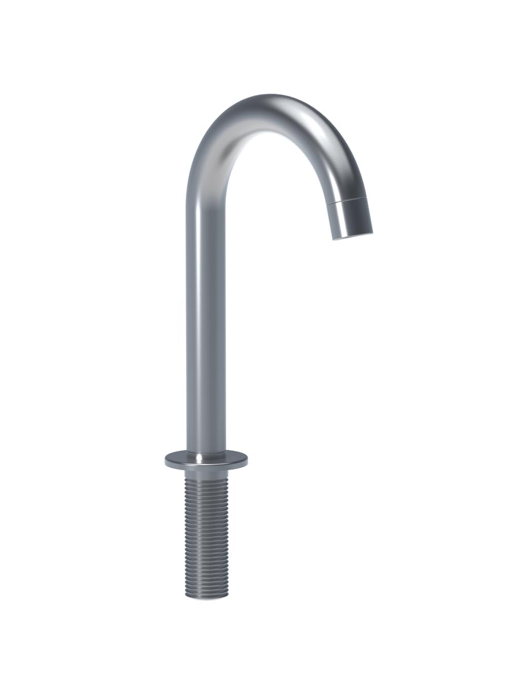 "Vola 090B-16 7"" High Swivel Spout, 4"" Spout - Chrome"